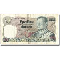 Billet, Thaïlande, 20 Baht, KM:88, TB - Thailand