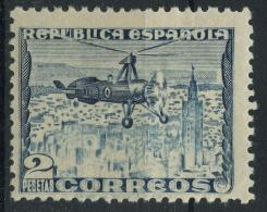 Espagne (1935) PA 95 (charniere) - 1931-Aujourd'hui: II. République - ....Juan Carlos I