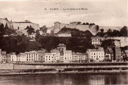 NAMUR- LA MEUSE ET LA CITADELLE-ANNI 1920-NON VIAGGIATA - Namur