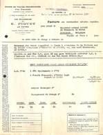 Rhums De Toutes Provenances, Vins étrangers, H Piquet Le Havre Pour Jodoigne 1959 - France