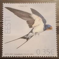Estonia, 2011, Mi: 693 (MNH) - Swallows