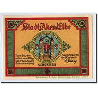 Billet, Allemagne, Aken, 50 Pfennig, Animaux, 1921, SPL, Mehl:8.1 - Germany