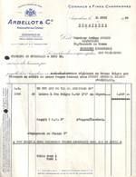 Arbellot & C° - Angoulème Pour Liquoriste Lazard, Jodoigne 1955 - France