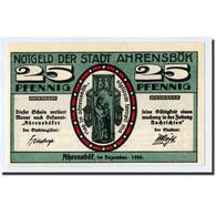 Billet, Allemagne, Ahrensbök, 25 Pfennig, Paysage, 1920, SPL, Mehl:6.1 - Germany