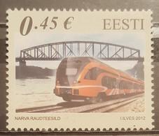 Estonia, 2012, Mi: 743 (MNH) - Eisenbahnen