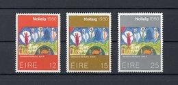 IRLANDA :  NATALE 1980  -  3 Val.  MNH**   13.11.1980 - Nuovi
