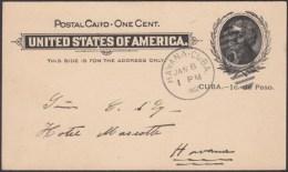 1899-EP-220 CUBA US OCCUPATION 1899. SPECIAL STATIONERY USED IN 1902, HAVANA. - Kuba
