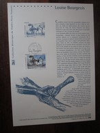 Premier Jour - Collection Historique Du Timbre-poste Français - Louise Bourgeois (2010) - Documents De La Poste