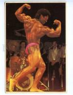 221902 BODYBUILDING Black Champion Paul Jean-Guillaume - Postcards