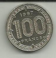 100 Francs 1967 Camarões - Cameroon