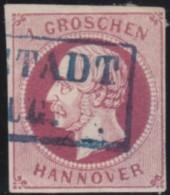 Hannover  .     Michel    .     14       .     O      .       Gebraucht - Hanovre