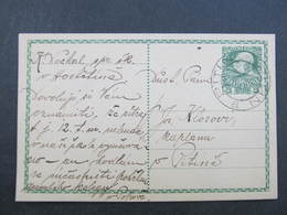 GANZSACHE Pitin - Hostetin 1908 Korrespondenzkarte  /// D*31829 - Briefe U. Dokumente