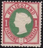 Heligoland     .   Michel    .    11       .       *     .     Ungebraucht Mit Falz Und Gummi - Helgoland