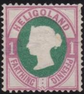 Heligoland     .   Michel    .    11      .       (*)    .     Kein  Gummi - Helgoland