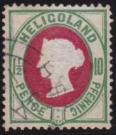 Heligoland     .   Michel    .   14        .      O        .     Gebraucht - Helgoland