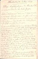 Papier Manuscrit De Louis Richard Mounet Sur Illustration Du 6 Mai 1934.Village De Haute Isle Près De La Roche Guyon. - Old Paper