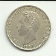 100 Réis 1889 D. Luis I Portugal - Portugal