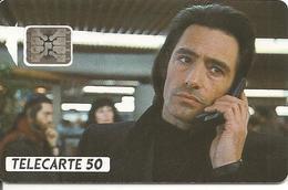 CARTE-PUBLIC-50U- F237-SC5-02/92-GERARD LANVIN-CINEMA 3-V° 5 Ge 35542-UTILISE-TBE - France
