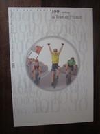 Premier Jour - Collection Historique Du Timbre-poste Français - 100e édition Du Tour De France  (2013) - Documents De La Poste
