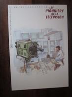 Premier Jour - Collection Historique Du Timbre-poste Français - Les Pionniers De La Télévision  (2013) - Documents De La Poste