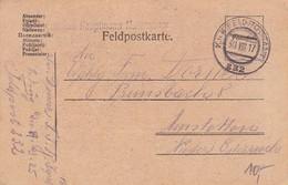 Feldpostkarte - Formation Hauptmann Matzenauer - 1917 (34826) - 1850-1918 Imperium