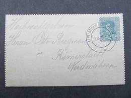 GANZSACHE Grimmenstein - Römerstadt 3.12.1918 Kartenbrief  /// D*31848 - Briefe U. Dokumente