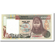 Billet, Colombie, 10,000 Pesos Oro, 1992, KM:437A, NEUF - Colombie