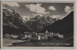 Casaccia (Bergell) Gegen Die Albigna - Photo: J. Gaberell - GR Grisons