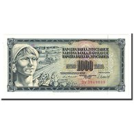 Billet, Yougoslavie, 1000 Dinara, 1981-11-04, KM:92d, NEUF - Yugoslavia