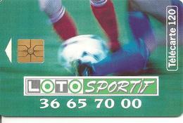 CARTE PUBLIC-F420-GEMA-LOTO SPORTIF-Sans 2e Logo-UTILISE-TBE - France