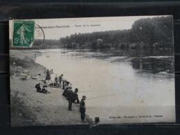 Z23 -  82 - Verdun Sur Garonne - Bords De Garonne - Edition Riviere - 1913 - Pecheurs - Verdun Sur Garonne