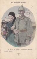 AK Der Seppl Auf Urlaub - Humor - Deutscher Soldat Mit Frau - Feldpost K.u.k. 3/14 Feldkompagnie - 1915 (34837) - Humor