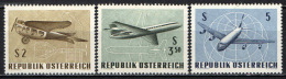 AUSTRIA - 1968 - ESPOSIZIONE INTERNAZIONALE DI POSTA AEREA A VIENNA - MH - 1945-.... 2nd Republic