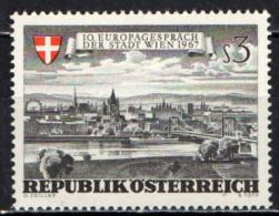 AUSTRIA - 1967 - COLLOQUIO EUROPEISTICO A VIENNA - MH - 1945-.... 2nd Republic