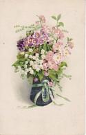 AK Vase Mit Blumen - K.u.k. Feldjägerbataillon Kopal No. 10 - 1918 (34839) - Blumen