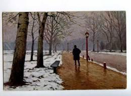 224044 RUSSIA Germashev Blagovest March Lenz #237 Old Postcard - Illustrators & Photographers