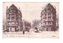 Chemin De Fer Tram Tramway Cannes Boulevard Carnot - Tramways