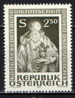 AUSTRIA - 1980 - CONGRESSO DEGLI ORDINI BENEDETTINI AUSTRIACI - MNH - 1945-.... 2nd Republic