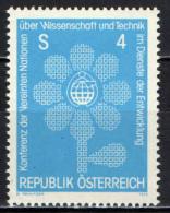 AUSTRIA - 1979 - CONFERENZA DELL'O.N.U. - SCIENZA E TECNOLOGIA AL SERVIZIO DELLO SVILUPPO - MNH - 1945-.... 2nd Republic