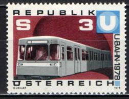 AUSTRIA - 1978 - METROPOLITANA DI VIENNA - MNH - 1945-.... 2nd Republic