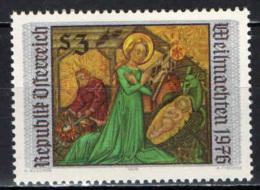 AUSTRIA - 1976 - NATALE: PALA D'ALTARE - MNH - 1945-.... 2nd Republic