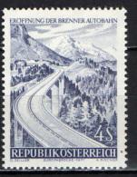 AUSTRIA - 1971 - AUTOSTRADA DEL BRENNERO - MNH - 1945-.... 2nd Republic