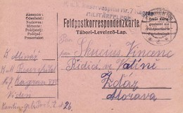 AK Feldpostkarte - K.u.k. Reservespital Nr. 7 Kagran Militärpflege - 1915 (34843) - Covers & Documents