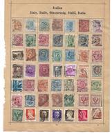 1560t: Altsammlung Auf Albumblatt: Italia Collection, 2 Scans - Italia