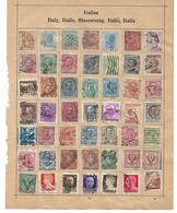 1560t: Altsammlung Auf Albumblatt: Italia Collection, 2 Scans - Italy