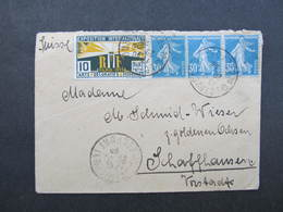 BRIEF Beaucourt - Schaffhausen 1926 /// D*31877 - Covers & Documents
