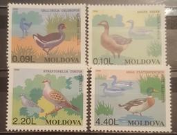 Moldova, 1996, Mi: 205/08 (MNH) - Gallinaceans & Pheasants
