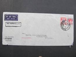 BRIEF Malaya Straits Settlements Singapore - Praha /// D*31878 - Thailand
