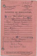 Fasciule De Mobilisation,Troyes, Wannemacker,Chennegy,Estissacc,Châtres, 1907 - Documents