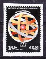 Italia 2015-IAI  Usato - 6. 1946-.. Republic